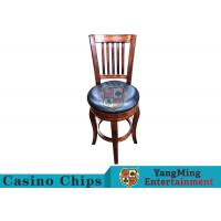 American Style Retro Dining Chairs / Gaming Desk Chair For Poker Card Games Manufactures