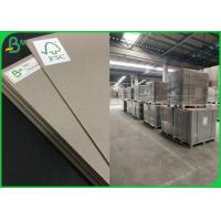 2.0MM 2.5MM Thickness Grey Cardboard Sheets For Box Raw Material Manufactures