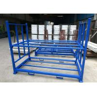 China Multi Tier Blue Color Industrial Storage Rack , Tyre Racking System Q235B Cold Steel Material on sale