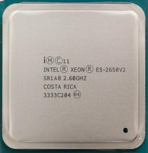 China 2.60 GHz Intel Xeon E5 2600 v2 8 Cores E5 2650 v2 SR1A8 20MB L2 Cache on sale