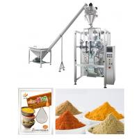 Corn / Wheat / Turmeric Powder Packing Machine With PLC Control Manufactures
