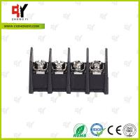 300V / 30A 9.5mm  Connector Terminal Block PA66 UL94V-0 Material Manufactures