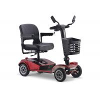 China Black Self Balance Travel Mobility Scooter , 60V 800W Small Mobility Scooter on sale