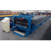 Economic Type PPGI Steel Tile and Trapezoidal Sheet Double Layer Forming Dual Level Roll Forming Machine Manufactures