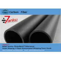 High End 3k Matte Carbon Fiber Pipe / Tubing For FPV / Cell Phones Manufactures