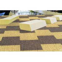 China 50*50cm Office Commercial Carpet Tile With Nylon PVC Backing on sale