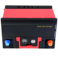 Lightweight Powerful Lifepo4 Car Battery 1500A 12.8V With BMS Quick Charge Manufactures