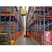 China Drive-in Rack Heavy Duty Storage Industrial Shelf Metal Drive-in Racking System on sale