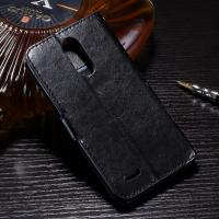 3 Slots LG K10 PU LG Leather Case Magnetic Handmade Folio Style Side - Open Manufactures
