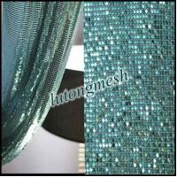Decorative Metal Sequin Fabric for room divider Manufactures