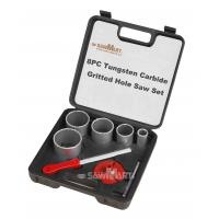 1-1/4 In. - 3-1/4 In. Carbide Grit Hole Saw Assorted Set 8 Pc Manufactures