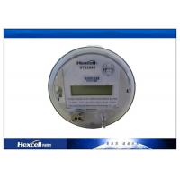 ANSI Standard Multifunction Socket Power Meter / Three Phase Kwh Meter Manufactures