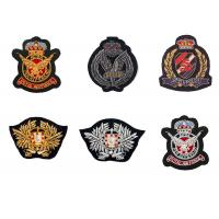 Indian silk sea land army eagle bird badge embroidery England clothes decoration patch American uniform Manufactures
