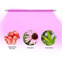 Quality 4 Feet IP65 LED Tube Grow Lights Aluminu PC With Water Joint , 120° Angle for sale