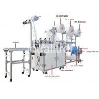 China Semi-automatic High-efficiency N95 KN95 Medical Surgical Mask Production Line Mask Making Machine on sale