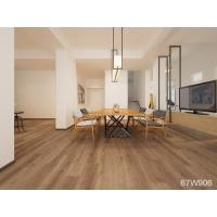 China Anti - Scratch Vinyl Wood Flooring , Click System Wood Look Vinyl Flooring on sale