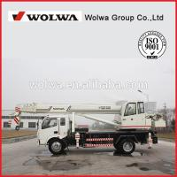 China Easy operation small truck crane/ Pick up truck crane for sale on sale