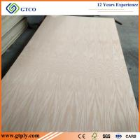 China 18mm Poplar Core Red Oak Plywood on sale