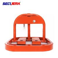 Vehicle Parking Space Lock Barrier Automatic Folding Block With 3 Years Warranty Manufactures