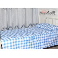 easy clean hospital bed sheet striped fitted bed sheets. Black Bedroom Furniture Sets. Home Design Ideas