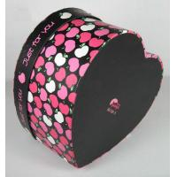 China Colorful Heart Shape Paper Box Packaging Apply To Valentine 's Day Gift on sale