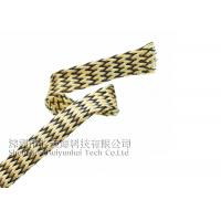 PET Expandable Heat Resistant Cable Sheathing , Halogen Free Heat Proof Wire Wrap Manufactures