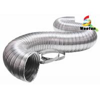 Smooth Aluminum Flexible Air Intake Duct Hose Custom Corrosion Resistance Manufactures
