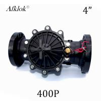 China Electric Plastic Agriculture 4 inch Irrigation Solenoid Valves for Water DC Latching on sale