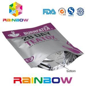 Food Grade Plastic Pouches Packaging Mylar Ziplock Laminated Tea Packing Bag