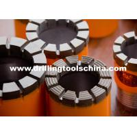 Wireline Diamond Core Drill Bits For Granite / High Performance Core Drill Bit Geological Drilling NC3 Manufactures