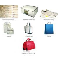All kinds of bags fabric, shopping bag, gift bag fabric, polyester stitchbond nonwoven Manufactures
