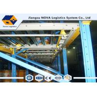 Large Capacity Gravity Flow Pallet Rack , ISO Rolling Tire Storage Rack  Manufactures