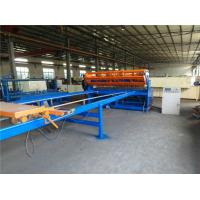 Fully Automatic Welded Wire Mesh Machine 40 - 60 Times / Min For School Playground Fence Manufactures
