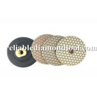 Flexible Resin Bond Diamond Polishing Pads 2 mm Thickness Custom LOGO Printed Manufactures