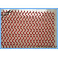China Architectural Aluminum Expanded Metal Facade Aluminum Mesh Panel on sale