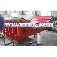 UHMWPE Plastic Rubber Conveyor Impact Bar impact bed impact cradle Manufactures