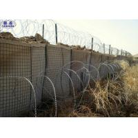 Hot - Dipped Galvanized Defensive Bastion Barriers Wall CE Certification 3 Years Warranty