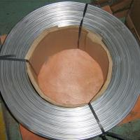 China Refrigeration Extruded Aluminum Tubing Round Thin Wall Anodized Surface Treatment on sale