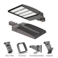 Buy cheap UL 5 Years Warranty IP65 100W, 150W, 240W, 300W LED Shoebox Street Light Housing / Fixture from wholesalers