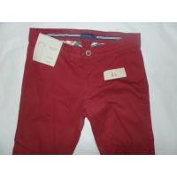 Comfortable Colored Twill Pants Shiny Color 100%Cotton Women Resisitant Fabric Manufactures