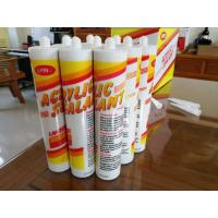 Made in China superior quality acrylic silicone sealant / acrylic adhesive Manufactures