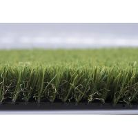 Anti - Vibration Landscaping Artificial Grass Fake Turf With V shape Yarn Manufactures