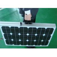 Monocrystalline Rollable Solar Panel36Cells Hydrophobic Layer With Light Absorb Manufactures