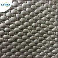 China Decorative Quilted Leather Fabric Foam Backing For Auto Headliner Headboard on sale