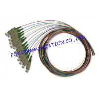 APC 12 Packs Pigtail Fiber Optic Cable , FTTX Fiber Optic Pigtail Low Insertion Loss Manufactures
