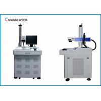 Nonmetals Desktop CO2 Laser Marking Machine With Air Cooling 20w RAYCUS MAX Sources
