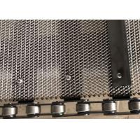 316L SS Wire Mesh Conveyor Belt , Woven Wire Conveyor Belt For Electric Product Conveying Manufactures