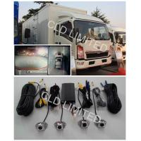 360 ° HD Camera Around  View Rear Parking Camera  System With 4 channel DVR, Loop Recording Manufactures