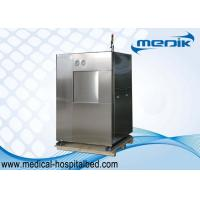 Horizontal Hospital Autoclave Sterilizer With SS304 Full Jacket Chamber Manufactures