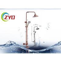 China Convinent 22MM Square Bathroom Shower Sets With Adjustable Shower Holder for sale